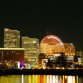 横浜夜景赤レンガ倉庫